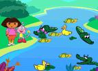 dora跳鱷魚